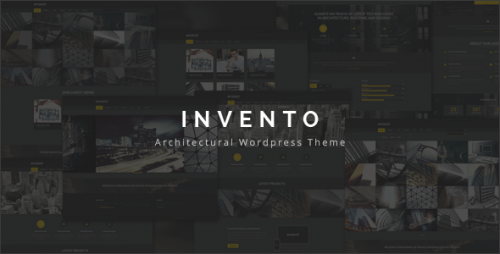 Invento - Architecture Building Agency Theme