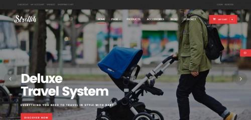 Strollik - Single Product WooCommerce WordPress Theme