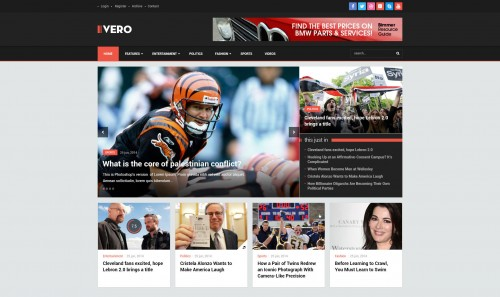 Vero - Responsive Blog and Magazine WordPress Theme