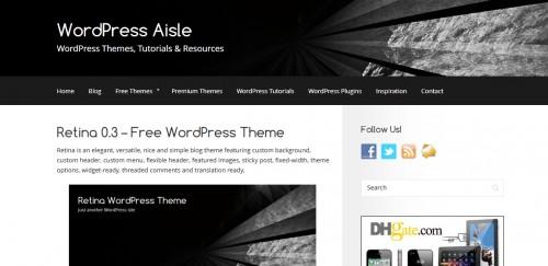 WordPress Aisle
