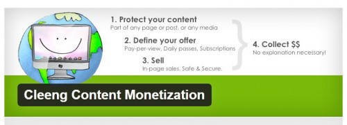 Cleeng Content Monetization