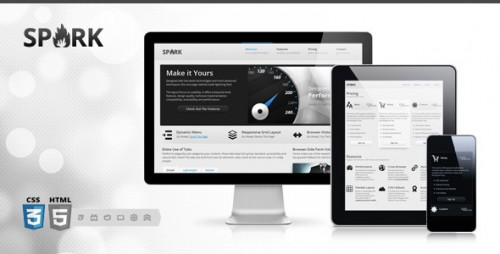 Spark - Responsive One-Page HTML5 Theme