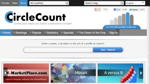 CircleCount - Free Online SEO Tools