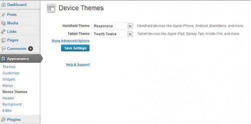 Device Theme Switcher