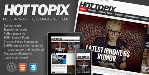 Hot Topix - Modern WP Magazine Theme