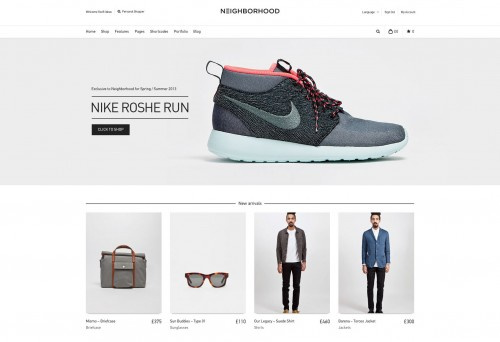 Neighborhood - Responsive Shop Theme