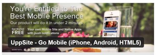 UppSite - Go Mobile