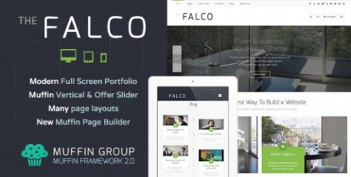 Falco – Responsive WordPress Theme