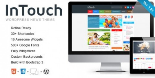 InTouch – Retina Responsive News Theme