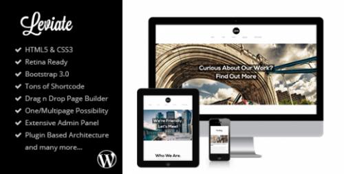 Leviate – HTML5 WordPress Theme