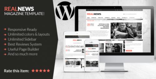Realnews – Responsive Magazine Theme