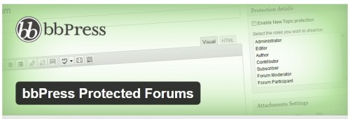 bbPress Protected Forums