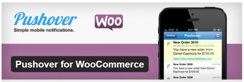 Pushover for WooCommerce