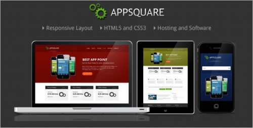 AppSquare - Software and Hosting WP Theme