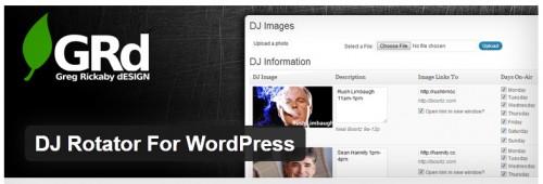 DJ Rotator For WordPress