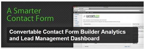 Convertable Contact Form