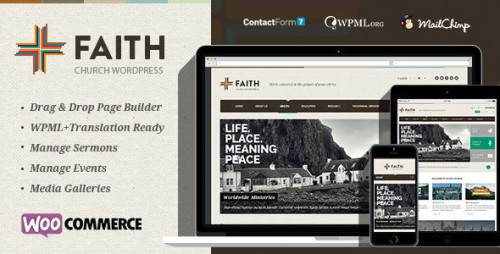 Faith - Multi Purpose WordPress Theme