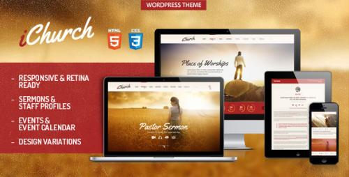 iChurch - Responsive Church WordPress Theme
