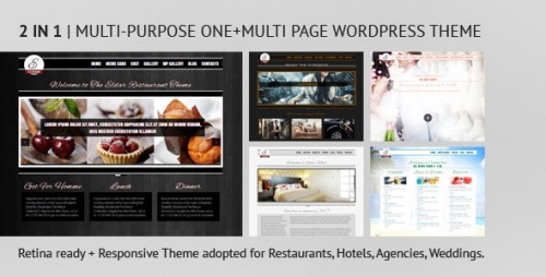 Eldar - Responsive and Retina Multi-Purpose Theme
