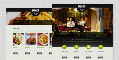 LaMonte - Modern Restaurant WordPress Theme
