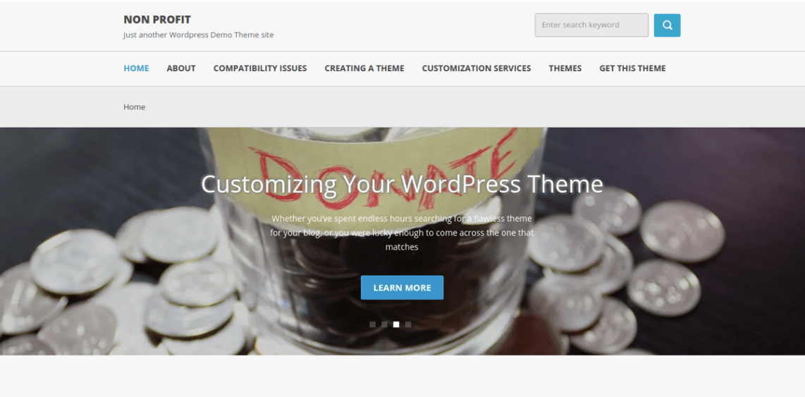 Free WordPress Themes for Charity