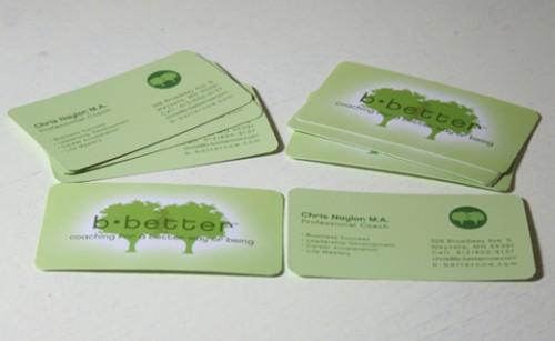 B Better - Business Cards
