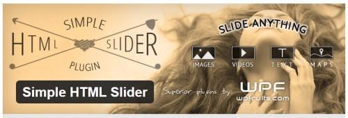 Simple HTML Slider