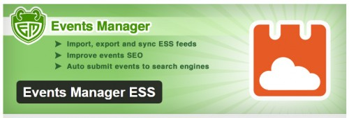 Events Manager ESS