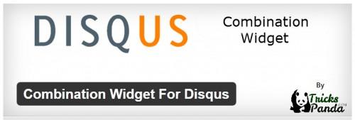 Combination Widget For Disqus