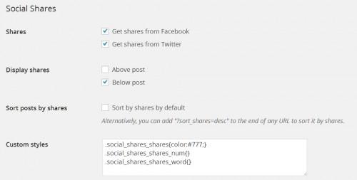 Social Shares