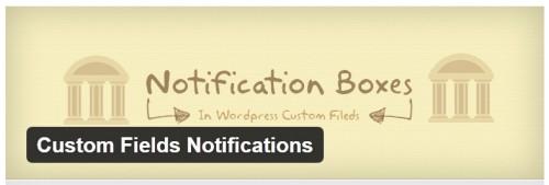 Custom Fields Notifications
