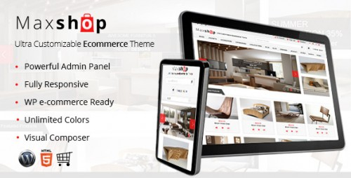 Maxshop - Responsive WP e-Commerce Theme