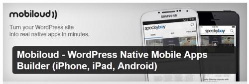 Mobiloud - WordPress Native Mobile Apps Builder