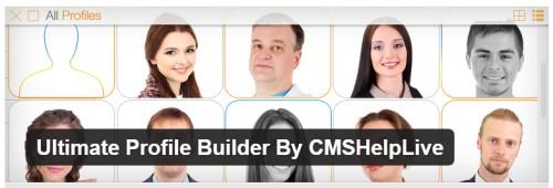 Ultimate Profile Builder By CMSHelpLive