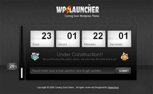 WpLauncher Theme