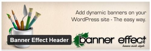 Banner Effect Header