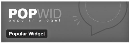 Popular Widget