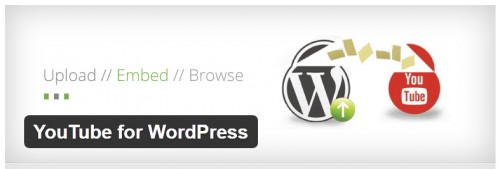 YouTube for WordPress