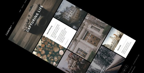 Camera - Responsive Creative WordPress Theme