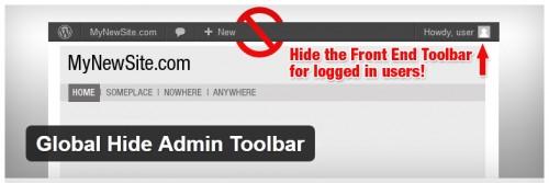 Global Hide Admin Toolbar