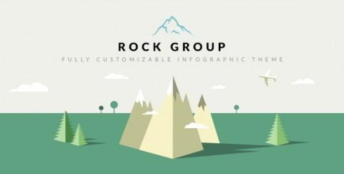 Rock Group - Multipurpose Infographic Theme