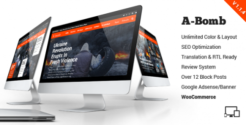 A-Bomb - News & Blog & Magazine Theme