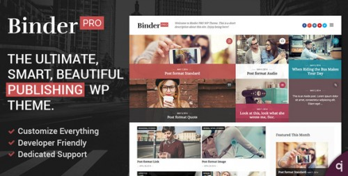 Evasion - Magazine & Blogging WordPress Theme