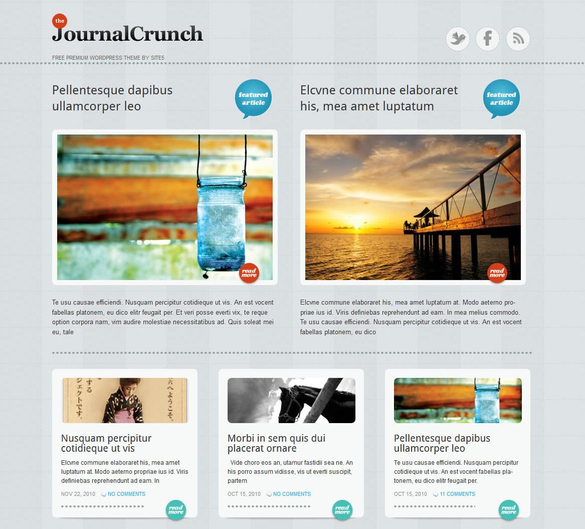 10 Creative Free Journal WordPress Themes - ThemeLeopard