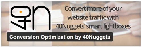 Conversion Optimization by 40Nuggets