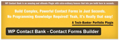 WP Contact Bank - Contact Forms Builder
