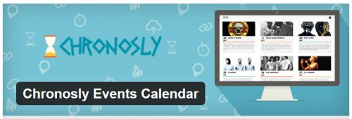 Chronosly Events Calendar