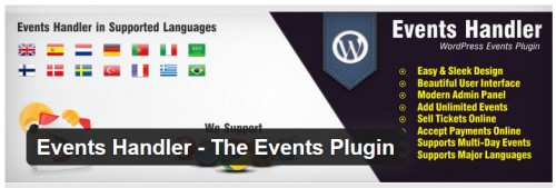 Events Handler - The Events Plugin