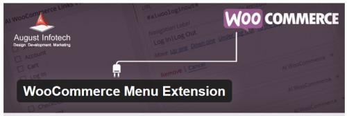 WooCommerce Menu Extension