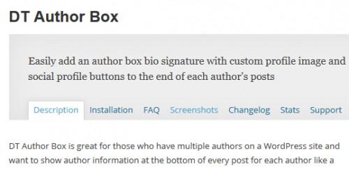 DT Author Box